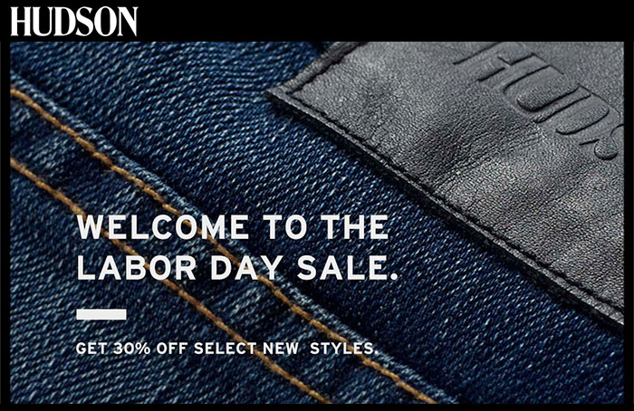 Best End of Summer and Labor Day Denim Sales - Hudson