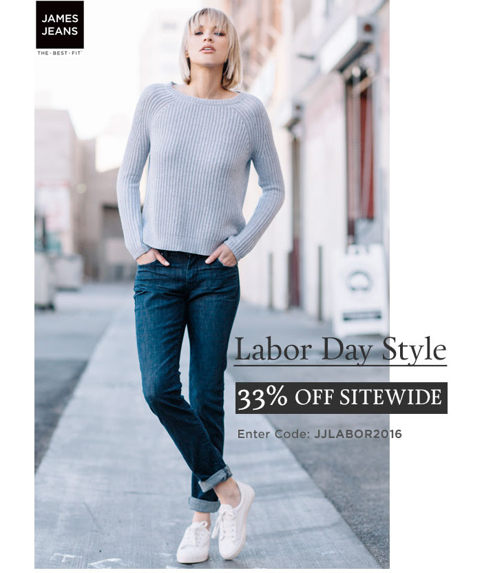 Best End of Summer and Labor Day Denim Sales - James