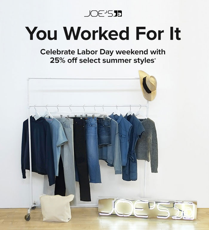 Best End of Summer and Labor Day Denim Sales - Joe's