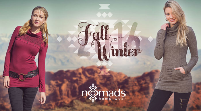 The Fall 2016 Collection from Nomad's Hemp Wear