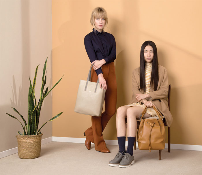 Vegan Handbags and Footwear from Matt & Nat - Oxford and Livia Totes, Knight and Atwater Shoes