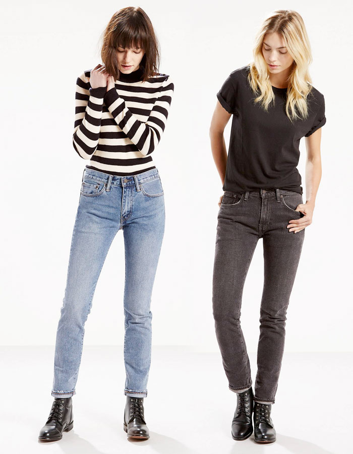 The Iconic Levi's 505c '70s Rock Jean - Atomic Blue and DeeDee