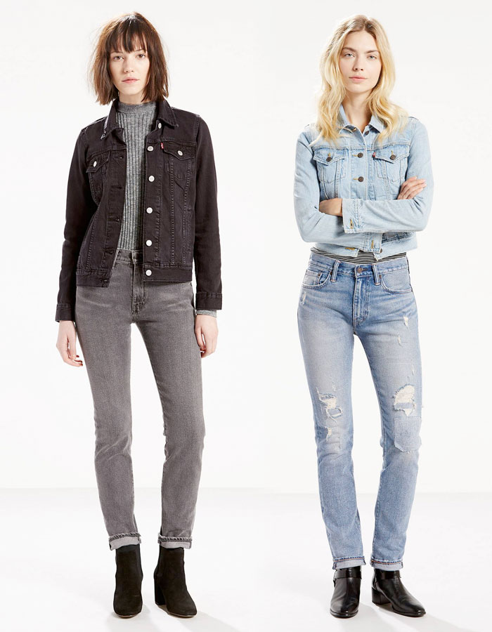 The Iconic Levi's 505c '70s Rock Jean - Marky and Patti