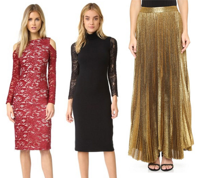 '70s Vibes with alice + olivia at Shopbop - Dresses and Skirt