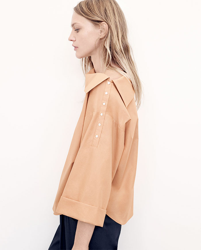 A New Sustainable Collection from Zara - Boatneck Shirt