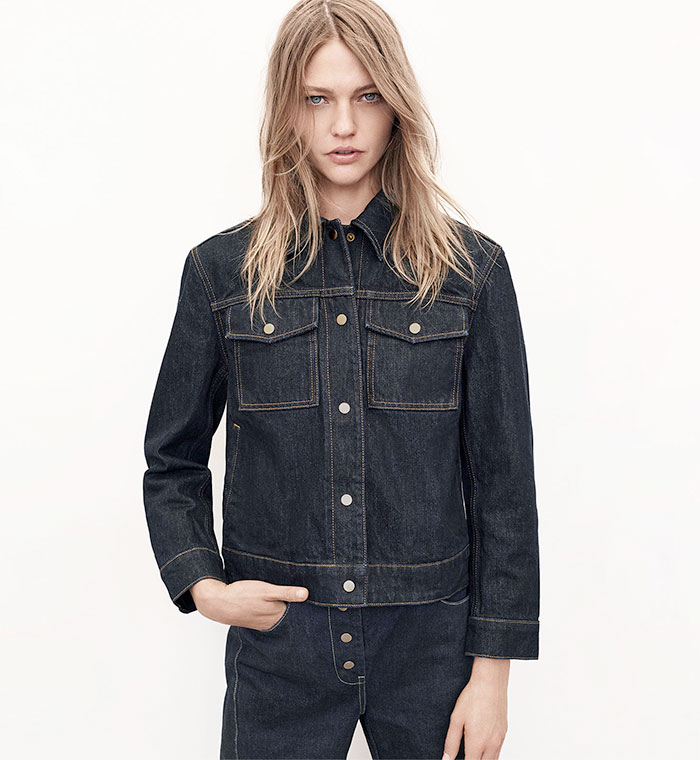 A New Sustainable Collection from Zara - Denim Jacket