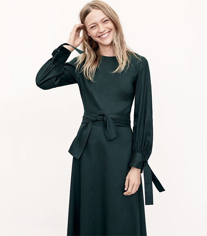 A New Sustainable Collection from Zara - Fitted Dress