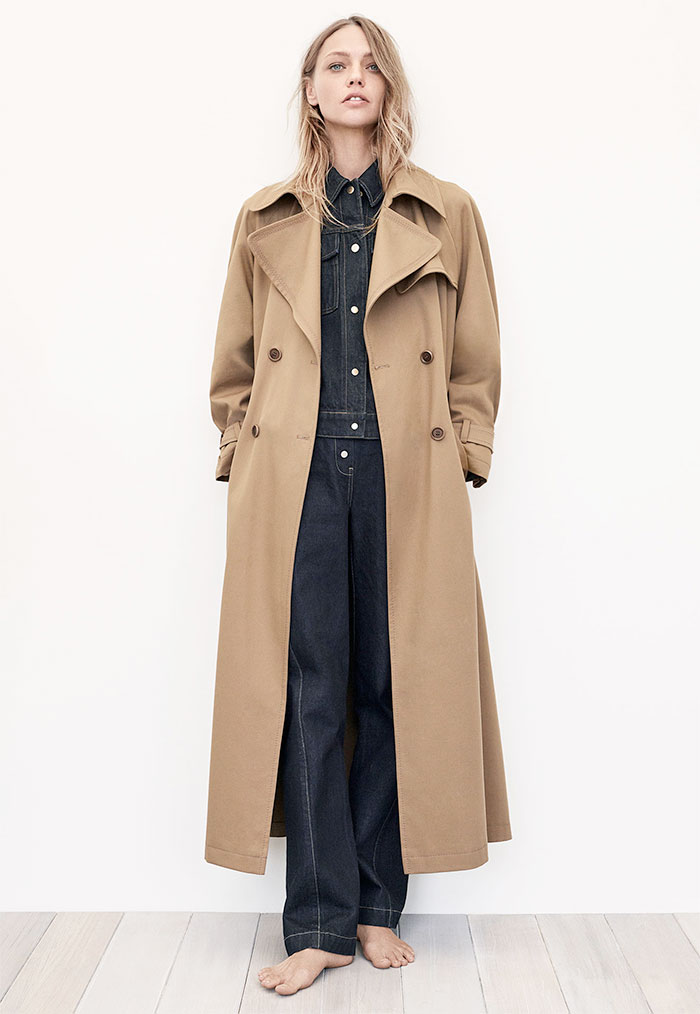 A New Sustainable Collection from Zara - Oversized Trench