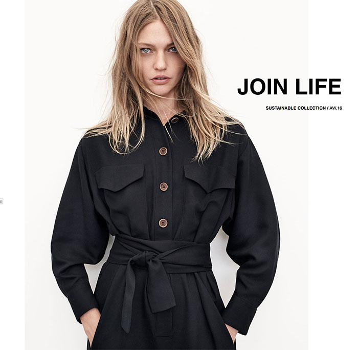 A New Sustainable Collection from Zara