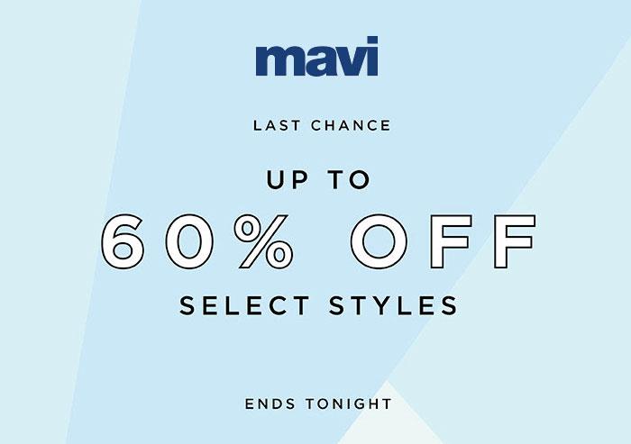 Mavi Jeans Last Chance Sale Ends Tonight