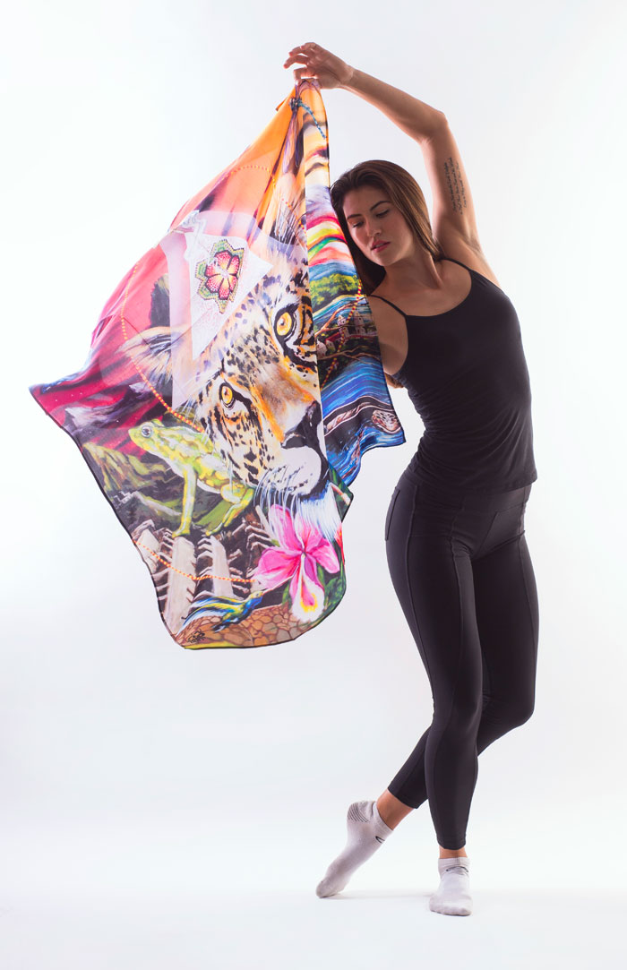 New Artist Scarves by Sociale Revolution - Clinton Bopp - Amazon