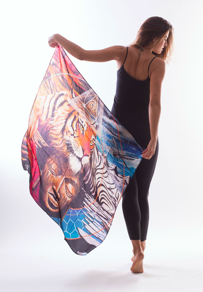 New Artist Scarves by Sociale Revolution - Clinton Bopp - Elements