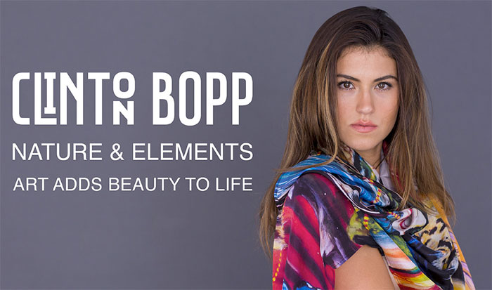 New Artist Scarves by Sociale Revolution - Clinton Bopp