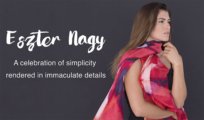 New Artist Scarves by Sociale Revolution - Eszter Nagy