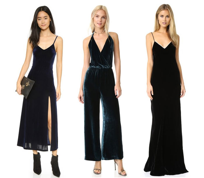 Velvet is the Fabric for Fall - Dresses