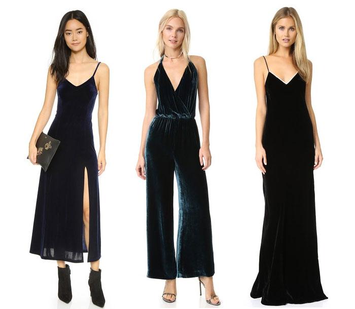 Velvet is the Fabric for Fall - Dresses
