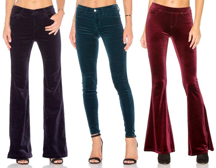 Velvet is the Fabric for Fall - Pants