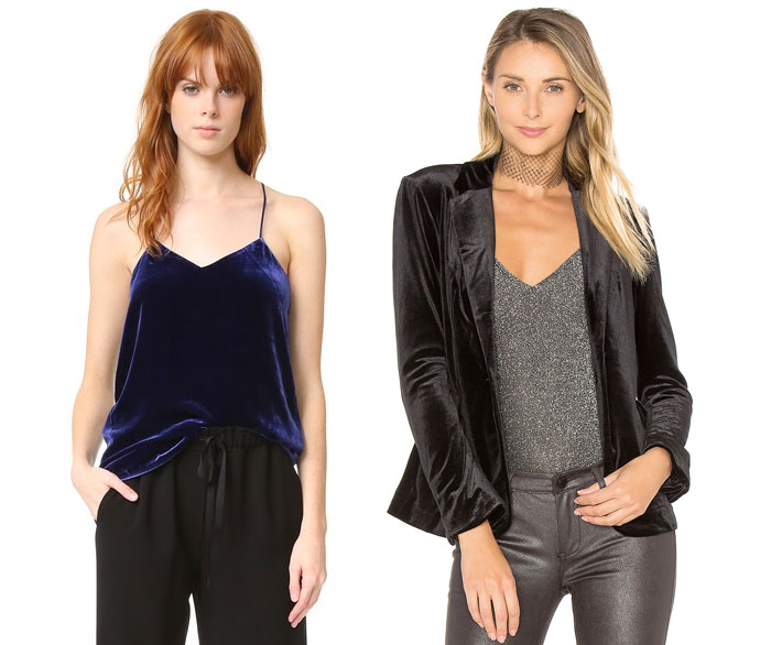 Velvet is the Fabric for Fall - Tops 2