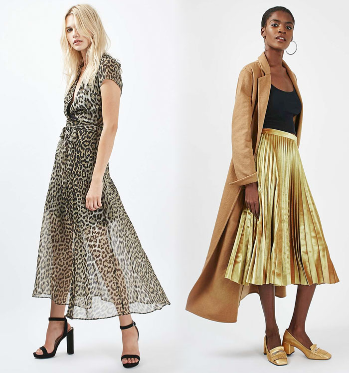She's Folk Rock Collection at Topshop - Dress and Skirt