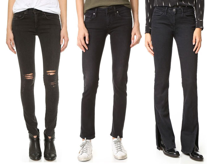 Faded Black Denim for Fall - Jeans 2