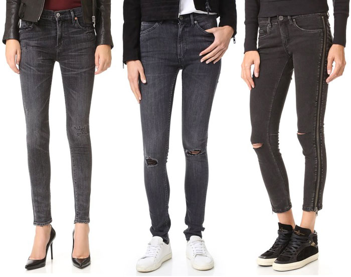 Faded Black Denim for Fall - Jeans 3
