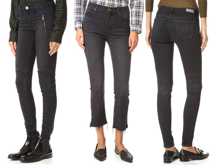 Faded Black Denim for Fall - Jeans 4