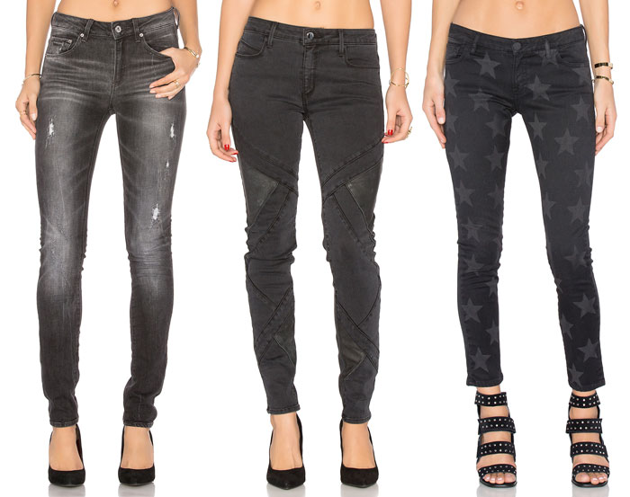 Faded Black Denim for Fall - Jeans 5