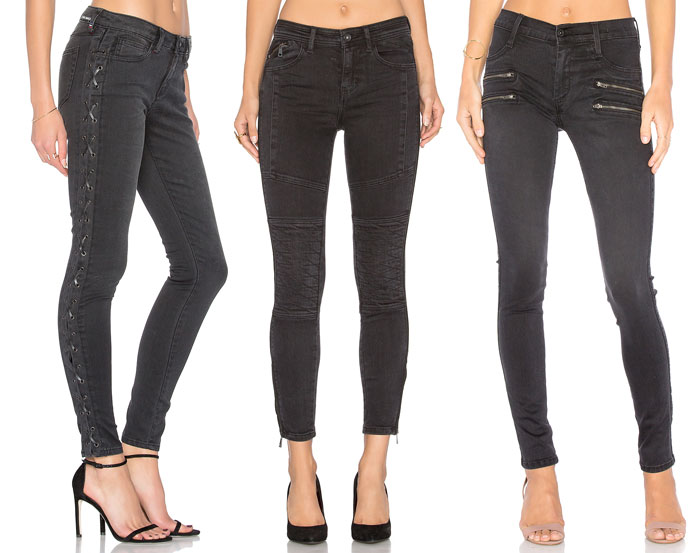 Faded Black Denim for Fall - Jeans 7