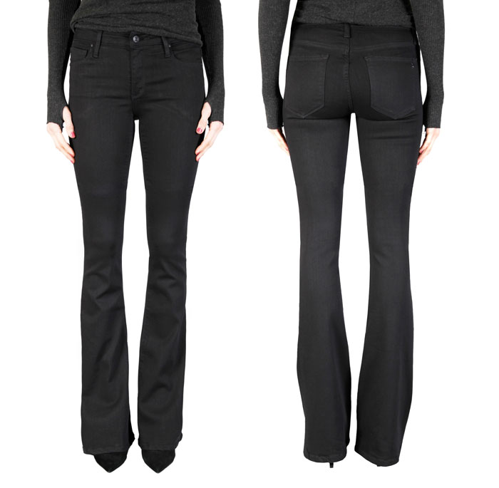 The So Black Denim Collection at Black Orchid - Mia Flare