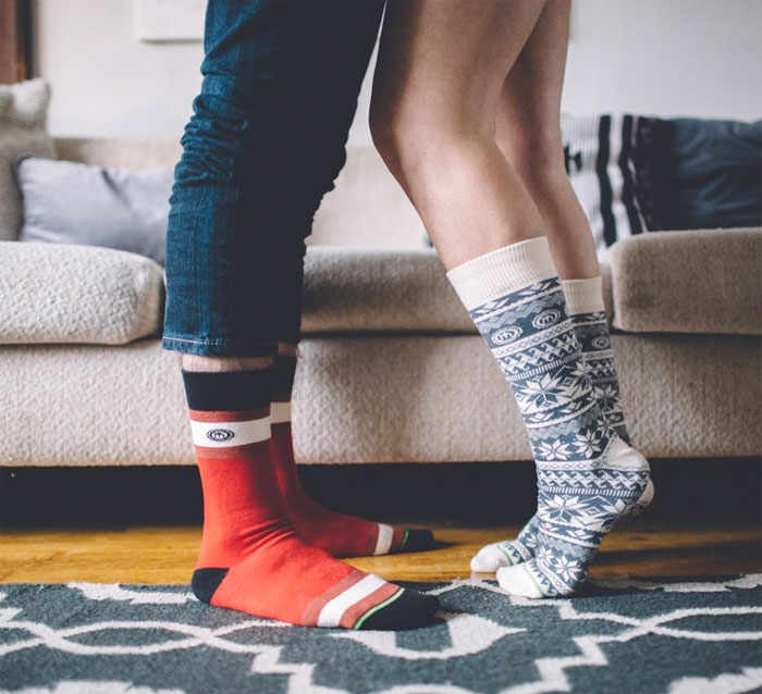 Support the Homeless with Mitscoots Outfitters - Mens and Women's Socks