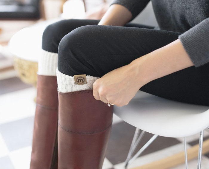 Support the Homeless with Mitscoots Outfitters - Women's Boot Socks
