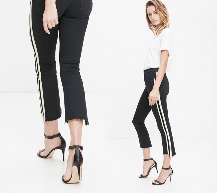 The Step Fray by Mother Denim - Insider in Guilty Racer
