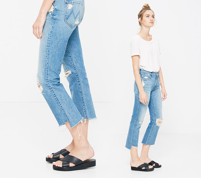 The Step Fray by Mother Denim - Insider in Not Guilty