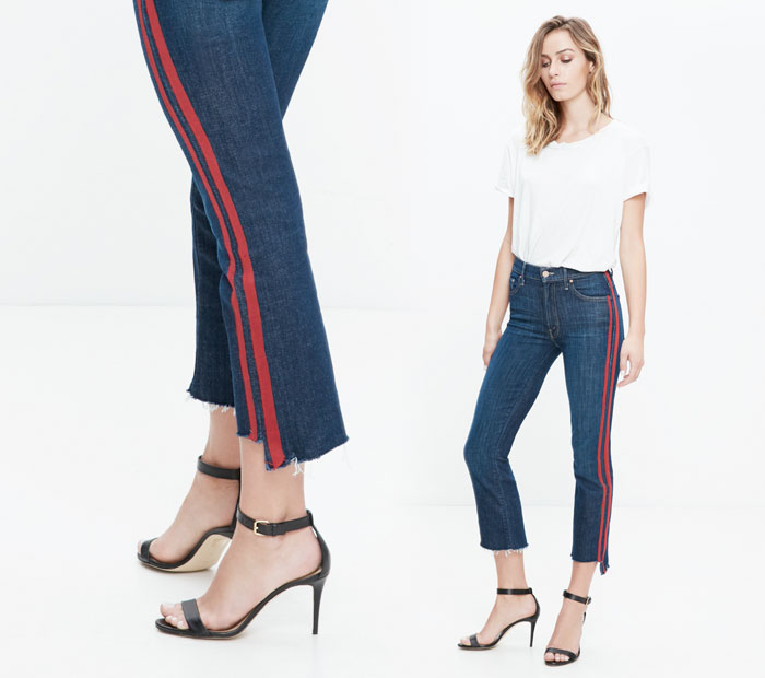 The Step Fray by Mother Denim - Insider in Speed Racer