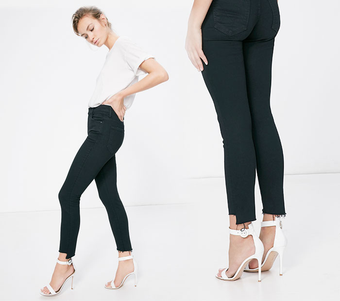 The Step Fray by Mother Denim - Stunner in Not Guilty