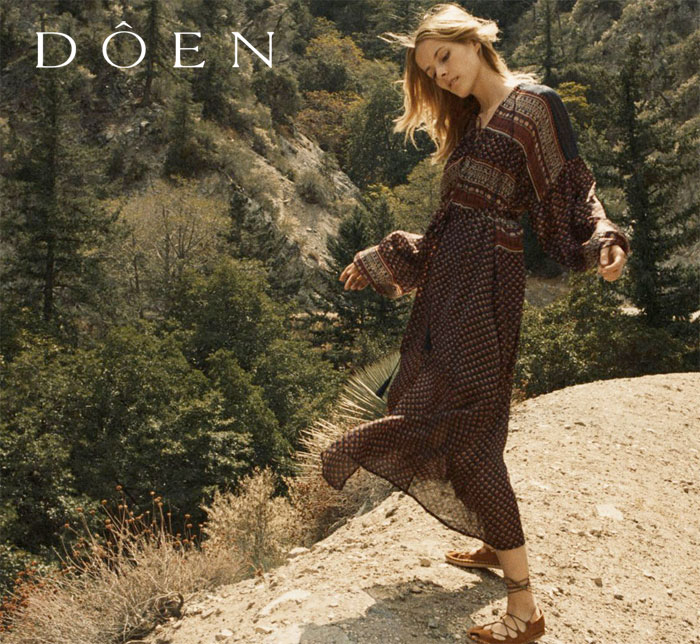 Bohemian Vintage Inspired Apparel by Doên