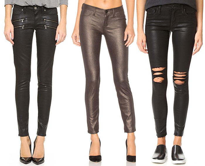 Coated Denim for Fall and Winter - Jeans 1
