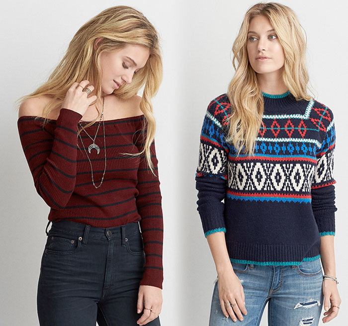 Step Up Your Sweater Game with AEO - Decadent Dissonance