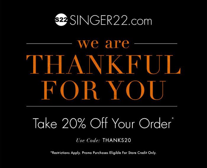 My Current Favorite Black Friday Denim Sales - Singer 22