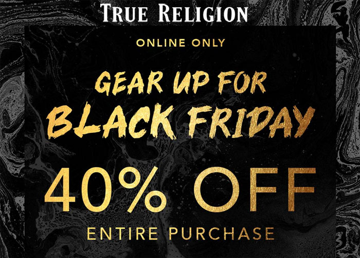 My Current Favorite Black Friday Denim Sales - True Religion