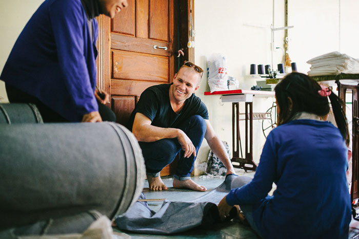 Help Fight Human Trafficking with Outland Denim - James Sewing