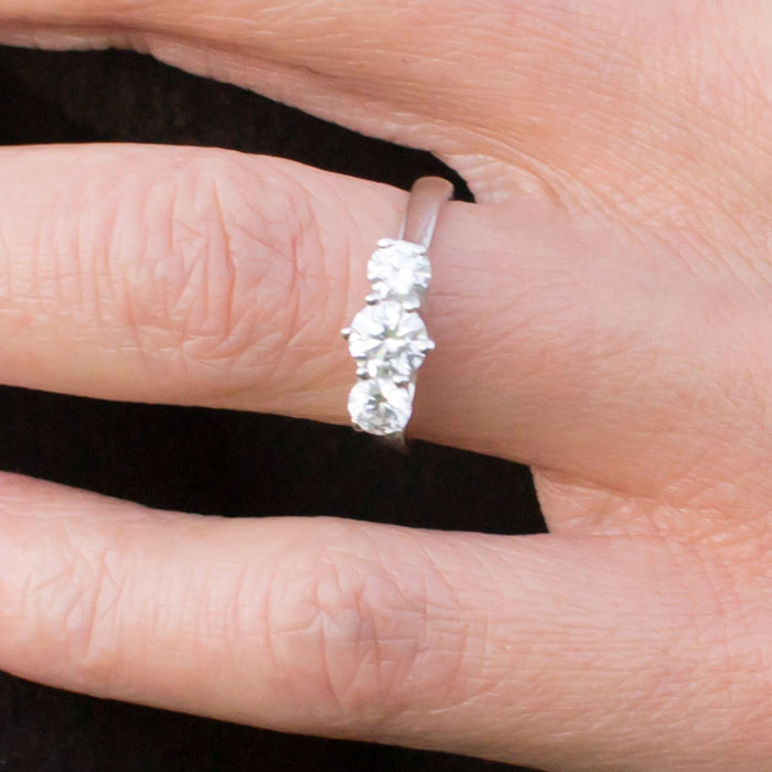 An Evening Outdoors with Anjolee - Ring Closeup