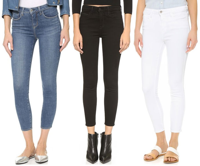 The L'AGENCE Margot High Rise Skinny Jean - Jeans