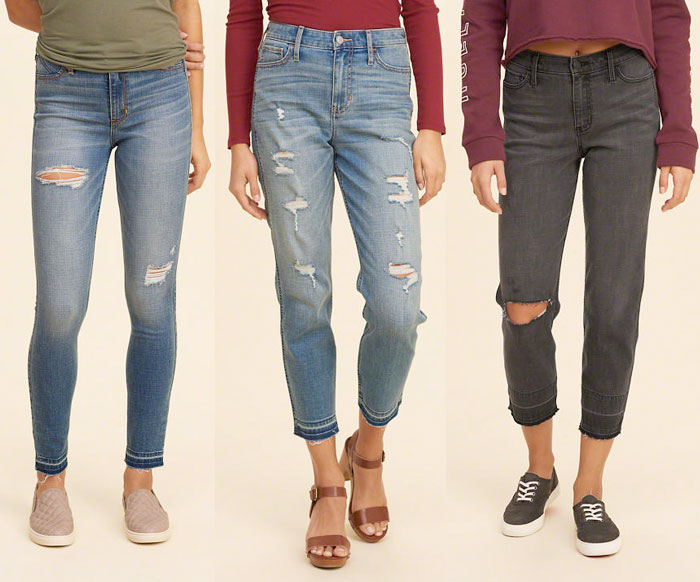 Hollister Releases New Performance Denim Line with INVISTA - Coolmax Jeans 1