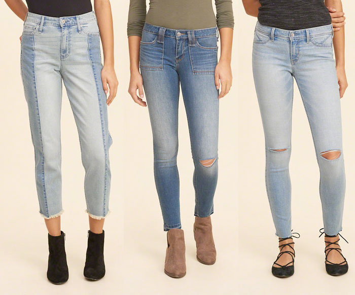 Hollister Releases New Performance Denim Line with INVISTA - Coolmax Jeans 2
