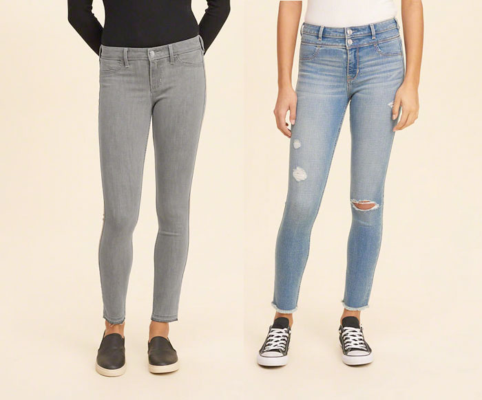 Hollister Releases New Performance Denim Line with INVISTA - Coolmax Jeans 3