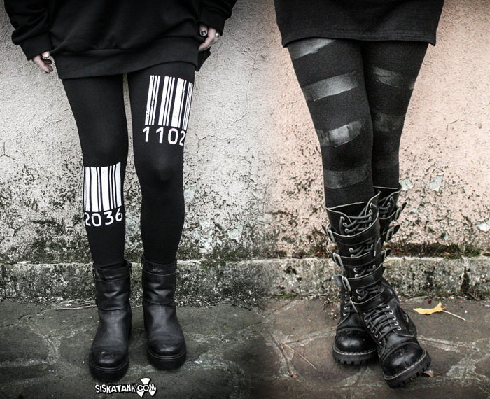Post Apocalyptic Apparel for Every Day by Siskatank - Legigngs