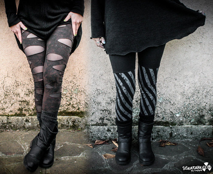 Post Apocalyptic Apparel for Every Day by Siskatank - Leggings 2