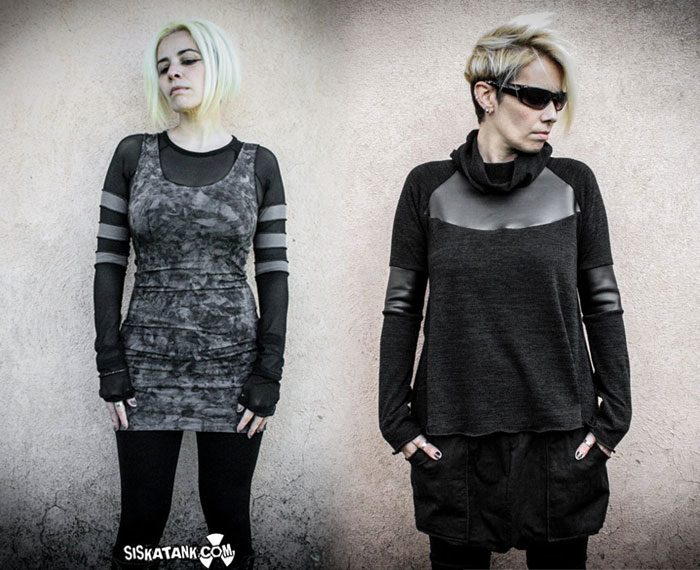 Post Apocalyptic Apparel for Every Day by Siskatank - Tops