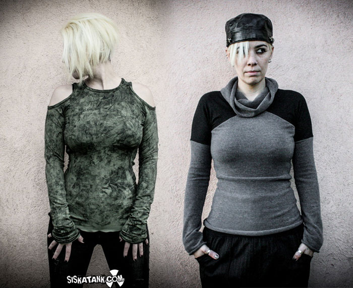 Post Apocalyptic Apparel for Every Day by Siskatank - Tops 2